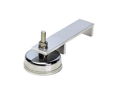 Befestigungsmagnet doppelt, einfachMágneses tartó induktorokhoz, egyszerű